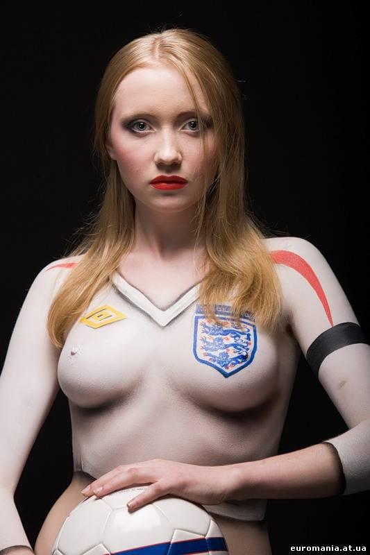 Секси девушки в форме футбольной 6 фотография